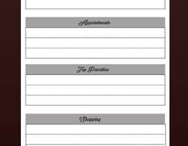 #12 untuk design a Print Ready DL size Daily Planner oleh pjanu