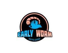 "#106 cho Logo representing ""The early worm gets the bird"" bởi PsDesignStudio"