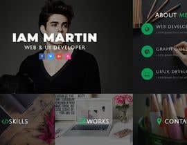 #88 for Dark design for personal website by jahangir505