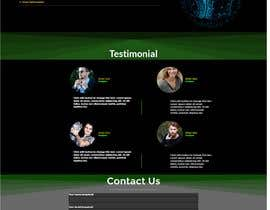 #85 for Dark design for personal website by khawraymaseed