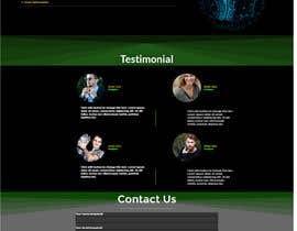 Nro 85 kilpailuun Dark design for personal website käyttäjältä khawraymaseed