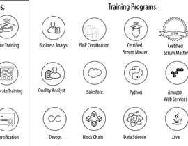 #18 for Create Icons for Training programs by JA838