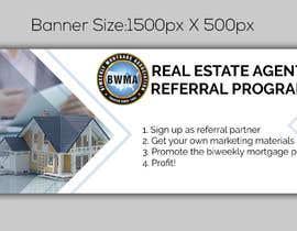 """nº 3 pour Need website banner for """"Real Estate Agent Referral Program"""" par noorulaminnoor"""