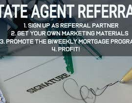 "Nro 11 kilpailuun Need website banner for ""Real Estate Agent Referral Program"" käyttäjältä shorna99"
