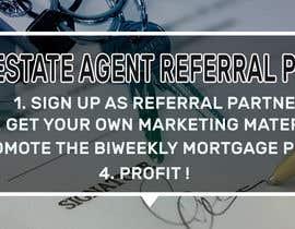 """nº 13 pour Need website banner for """"Real Estate Agent Referral Program"""" par shorna99"""