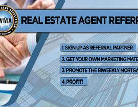 "#9 untuk Need website banner for ""Real Estate Agent Referral Program"" oleh GFXMENTOR"