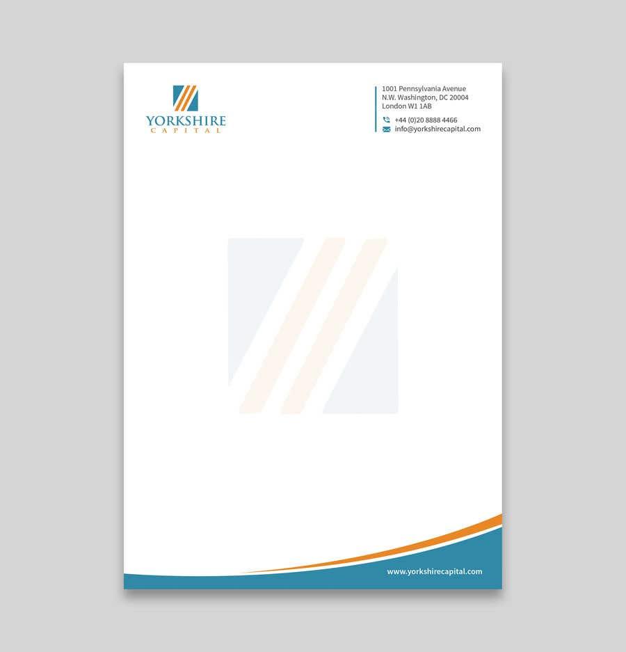 Konkurrenceindlæg #152 for Design a letterhead