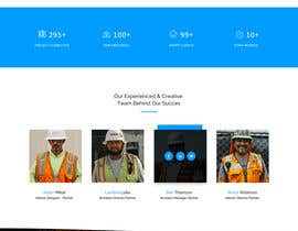 #34 for Design a new homepage for a construction company. af Isha3010