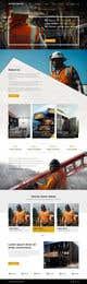Konkurrenceindlæg #19 billede for Design a new homepage for a construction company.