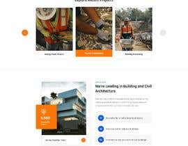 nº 45 pour Design a new homepage for a construction company. par webzonebd