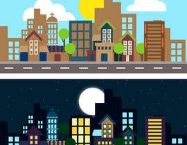 #19 untuk I need a 2D city background oleh RainbowD