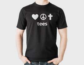 mahabub14 tarafından Simple logo for a T-shirt business. Love Hope and Faith Tees için no 34