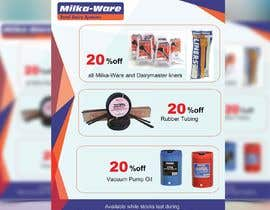 #38 for 2019 consumables promotion printed flyer by Richarddophu