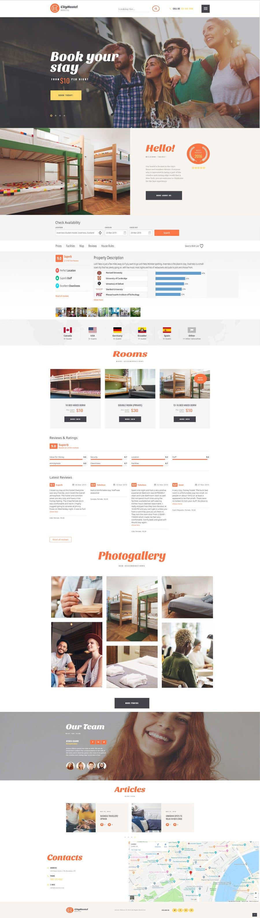 Penyertaan Peraduan #30 untuk Building a 2 pages of Website UI & UX. Best entry to get opportunity for completing 70+ screens UI & UX as well.