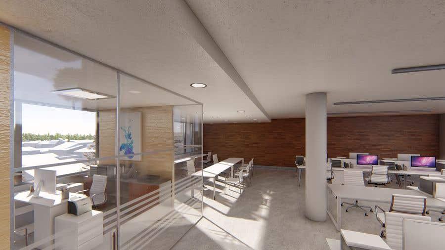 Proposition n°4 du concours interior design for Office