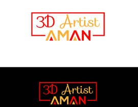 NajirIslam tarafından Design a logo for my works. Name is 3D Artist aman. için no 9