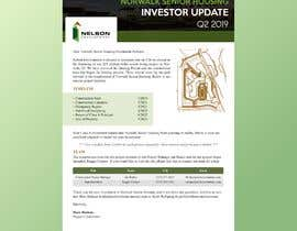 #36 para Design Investor Report in Word from Current Old Version por sunnyhbk