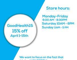 #14 para Advertisement for Health Store flyer por fahmidaistar7323