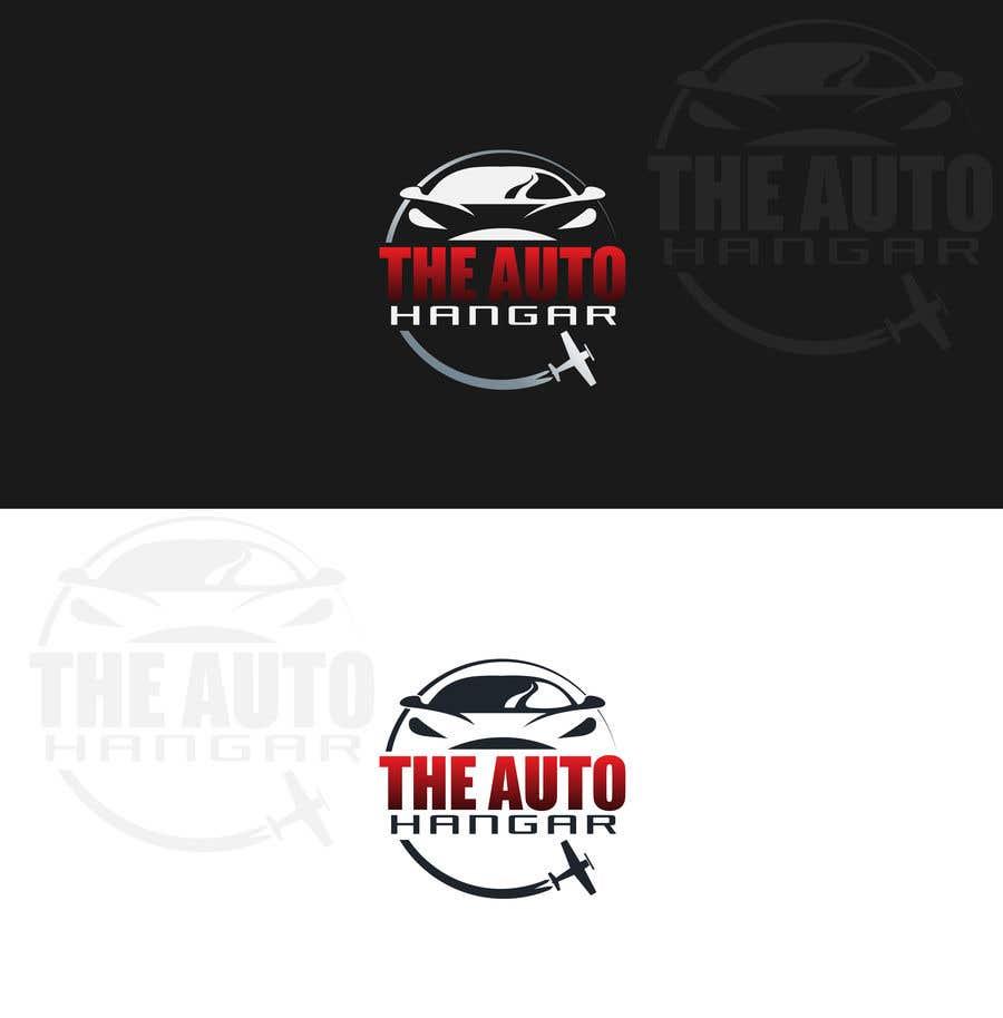 Penyertaan Peraduan #330 untuk Unique logo for an auto dealership in an airport hangar!