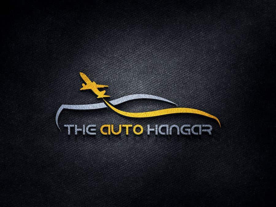 Penyertaan Peraduan #464 untuk Unique logo for an auto dealership in an airport hangar!