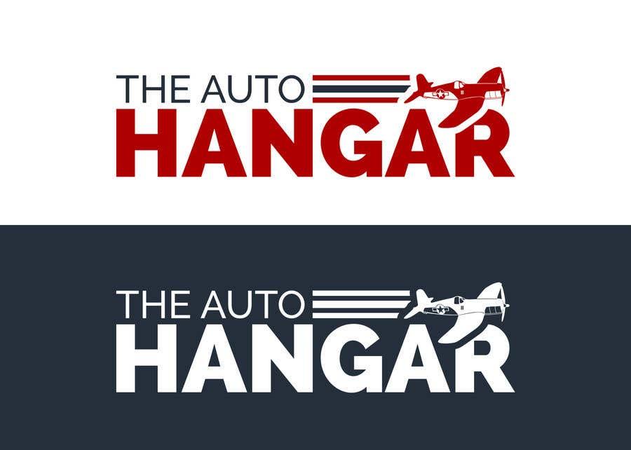 Penyertaan Peraduan #287 untuk Unique logo for an auto dealership in an airport hangar!