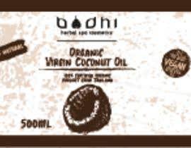 #33 para Virgin Coconut Oil label design por danieledeplano