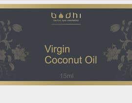 #29 para Virgin Coconut Oil label design por eleganteye4u