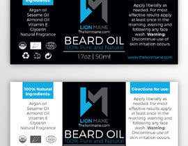 "#31 para I need to design a label for my beard oil brand. The brand is called ""Lion Mane"". por b3ast61"