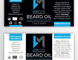 "#32 para I need to design a label for my beard oil brand. The brand is called ""Lion Mane"". por b3ast61"