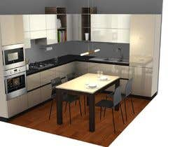 #9 for Modern kitchen design, with elements of loft style. by alfaysal87