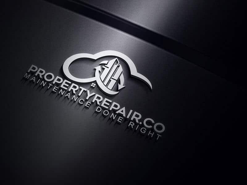 Penyertaan Peraduan #160 untuk Logo design for property repair