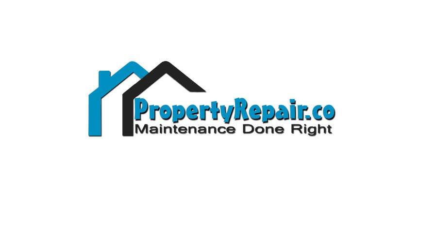 Penyertaan Peraduan #36 untuk Logo design for property repair