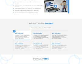 #26 for Redesign my landing page by agnitiosoftware