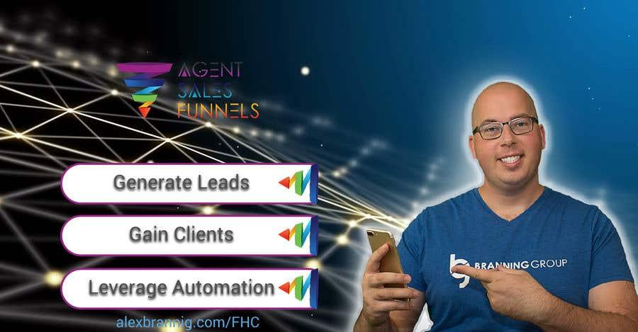 """Konkurrenceindlæg #43 for Facebook Cover Photo for """"Agent Sales Funnels"""""""