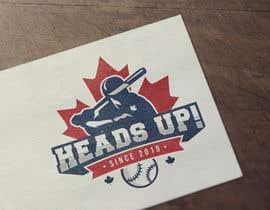 #89 untuk Logo designed for Baseball Team oleh inihisyam