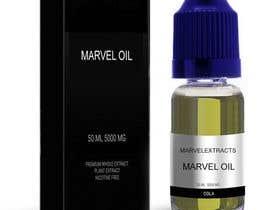#4 for Marvel oil box & bottle information placed on to just nic it box bottle, green liquid blue lid af ptriantafillis