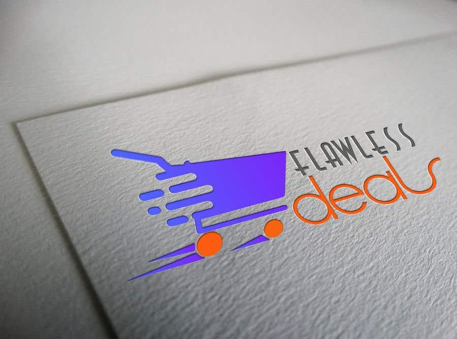 Penyertaan Peraduan #74 untuk Re-design Illustrator file attached. Flawless Deals Logo Improvement