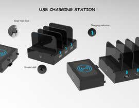 lyuvaraj06 tarafından Industrial design of an attachable USB charging station için no 19