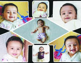 #61 for Wanted create a collage poster/frame for my baby boy (frame size 18'Inch x 24 inch/14inch x 18 inch) by Ubaidbaloch