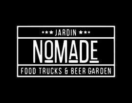 """#42 cho A partir del logo adjunto debe crear uno que incluye todo menos """"nro.170"""", """"mallinkrodt"""" cambia por """"nomade"""", """"craft beer"""" cambia por """"beer garden"""" es decir, incluir: jardin, Nomade, food trucks & beer garden bởi mariaperezart"""