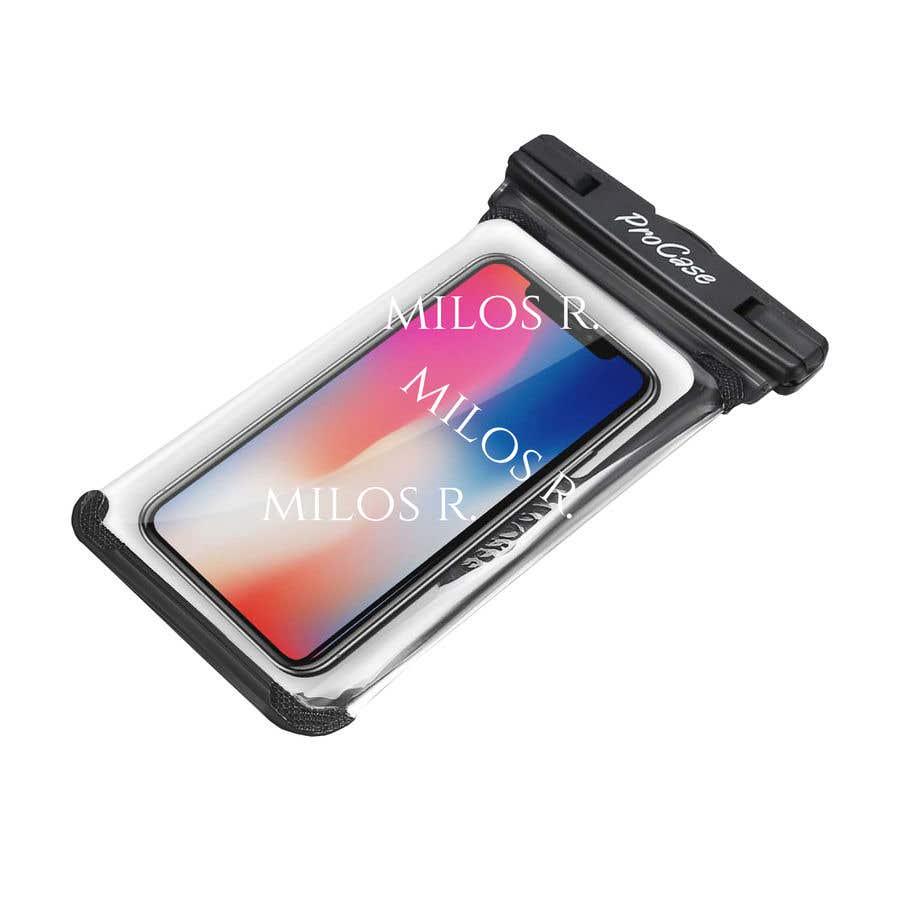 Konkurrenceindlæg #1 for ProCase Funda impermeable universal para teléfono celular Funda seca para iPhone Xs Max