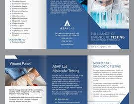 nº 7 pour Tri-Fold Brochure for Medical LAB par RosalineJack