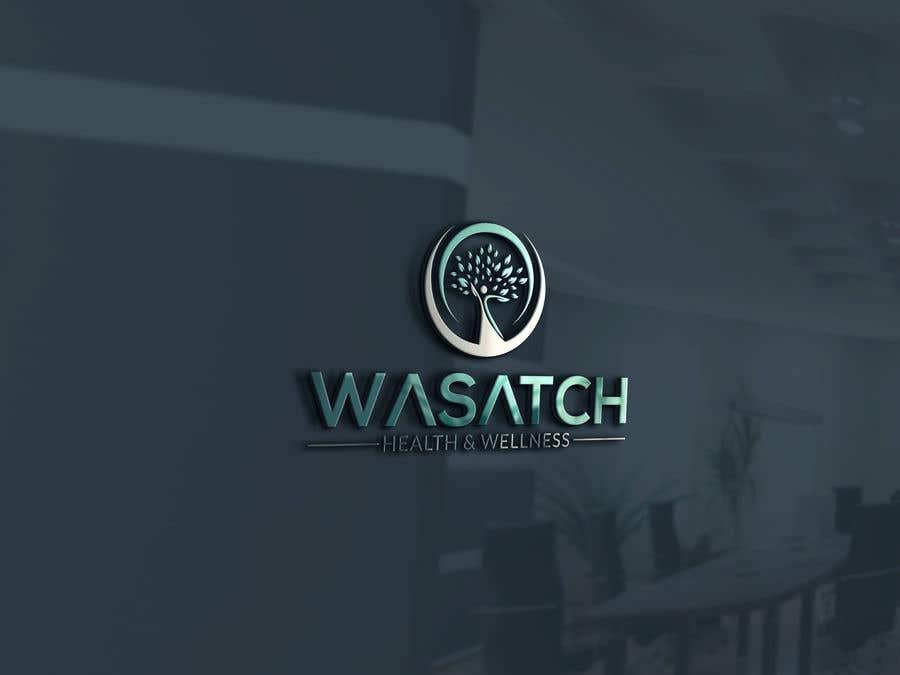Penyertaan Peraduan #94 untuk Wasatch Health & Wellness medical clinic Logo