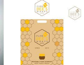 """#106 for Design """"Pure Bees Wraps"""" Logo and Box Design by hbakbar28"""