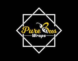"""#95 untuk Design """"Pure Bees Wraps"""" Logo and Box Design oleh hmasum738"""