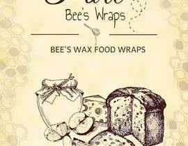 """#108 untuk Design """"Pure Bees Wraps"""" Logo and Box Design oleh LinzyMcMurter"""
