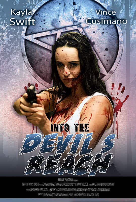 "Kilpailutyö #91 kilpailussa Create a Movie Poster for ""Into the Devil's Reach"""