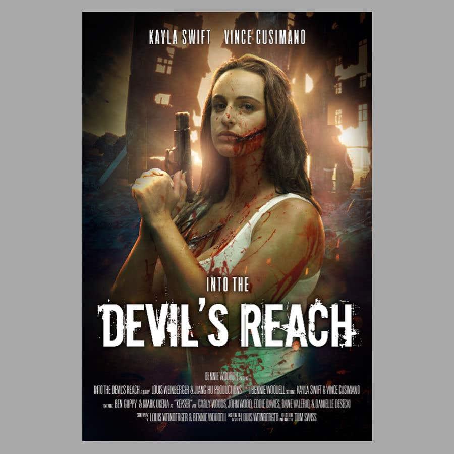 "Kilpailutyö #34 kilpailussa Create a Movie Poster for ""Into the Devil's Reach"""