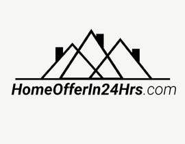 #13 untuk a logo for my business called HomeOfferin24hrs.com.  We look for people that are looking to sell their house fast for cash.  we make a cash offer within 24 hrs after viewing.  we will buy the house in any and as-is condition oleh Hadaxation