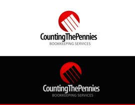 #58 dla Logo Design for Counting The Pennies Bookkeeping Services przez pinky
